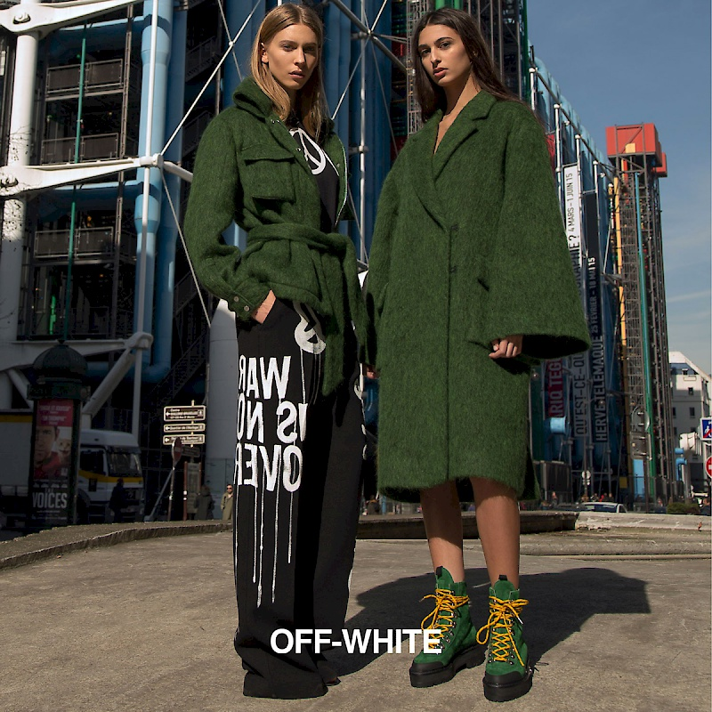 Anna Schiffel, Styling for Off--White Campaign
